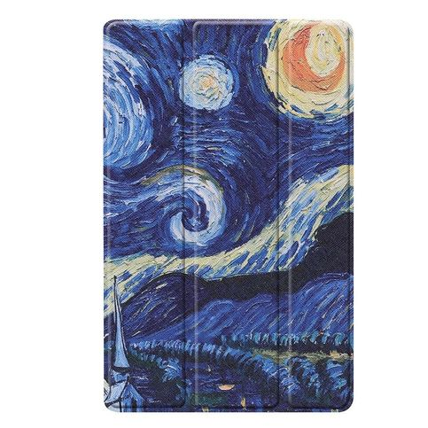 Smart Book Case Gogh Sterrennacht